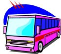 Bus transportation is cheap and easy in many countries.
