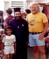 On a ferry boat to a Greek Island, I asked this Greek Orthodox priest for tips on Greek Cuisine and got a three hour dissertation. Wow! I tell you, this man knows his food!