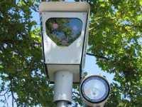Red-light camera in Beaverton, Oregon.