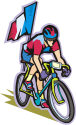 The Tour de France is the biggest event in bicycling.