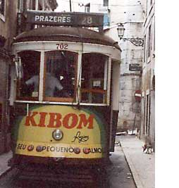 Tram 28 circles Lisbon and takes me to the 1930's.