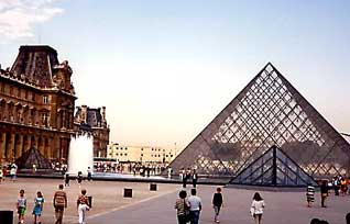 The Louvre, France's greatest art museum, showcases the old with the new..