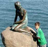 Denmark's Little Mermaid.
