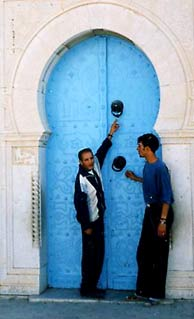Tunisian Arab Doors.