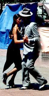 The red hot Tango dance in action in Argentina.