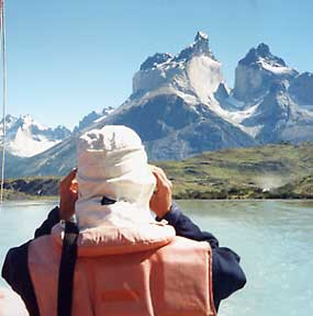 Chili's magnificent Patagonia mountains called Torres del Paine.