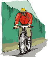 Try bicycling through the city or country  side.