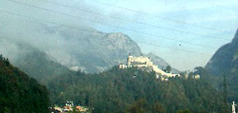 Burg Hohenwerfen - Film location for Where Eagles Dare.