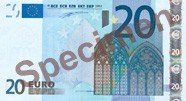 The 20 Euro note.