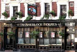 Sherlock Holmes Pub in London.