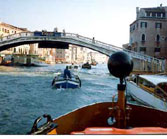 A busy Venetian canal.