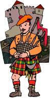 Scottish Bagpipes.