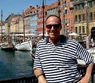 Here is my old tim friend, Dan, I arrange to meet in Copenhagen.