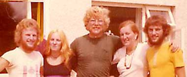 Here I'm with my Canadian friends I met in Morocco and later in Northern Ireland.